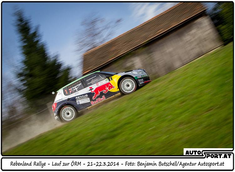 Raimund Baumschlager: Im Rebenland erneut der Sieger - Foto: Benjamin Butschell / Agentur Autosport.at