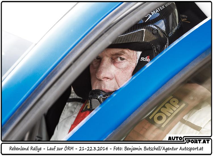 Walter Mayer nimmt 14 Meisterschaftspunkte und viele Erfahrungen aus dem Rebenland mit - Foto: Benjamin Butschell/Agentur Autosport.at
