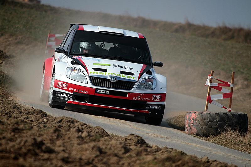 Mario Saibel gewinnt deutlich die Schneerosen Rallye 2014