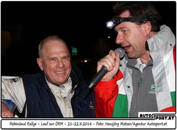 Walter Mayer muß noch um den Start bei der Wechselland Rallye zittern - Foto: MHansjörg Matzer/Agentur Autosport.at