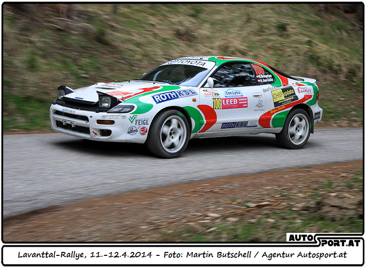 3. Platz für Weingartner/Auer-Kaller im Lavanttal 2014 - Foto: Martin Butschell/Agentur Autosport.at