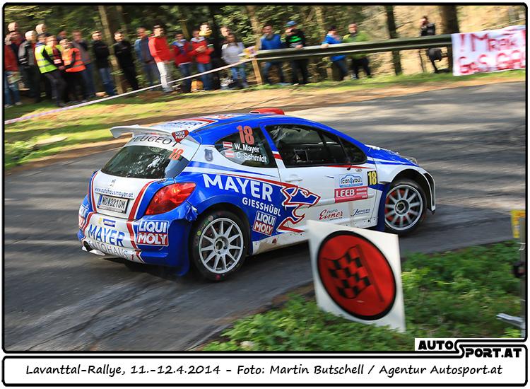 Walter Mayer musste Lavanttal-Rallye vorzeitig beenden  - Foto: Martin Butschell/Agentur Autosport.at