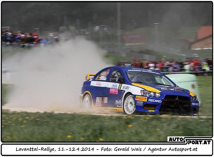 Gassner/Thannhäuser mit 3. Platz bei 38 Startern zufrieden - Foto: Gerald Wais / Agentur Autosport.at