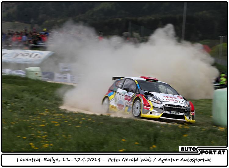Gerwald Grössing siegt bei der Lavanttal-Rallye 2014  - Foto: Gerald Wais/Agentur Autosport.at