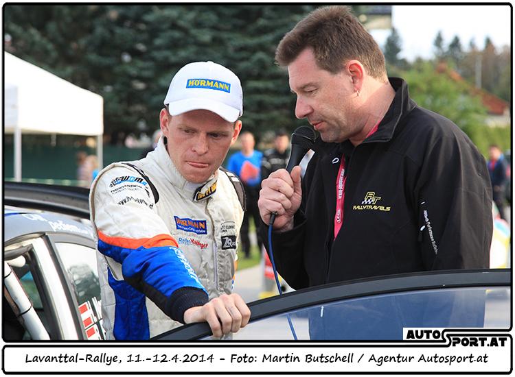 Hermann Neubauer sah schon wie der sichere Sieger aus  - Foto: Martin Butschell/Agentur Autosport.at