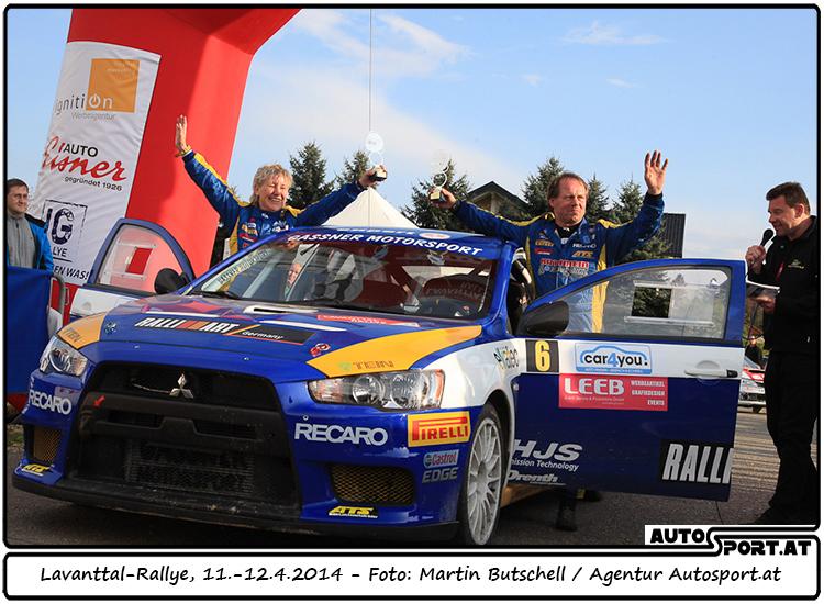 Gassner/Thannhäuser mit 3. Platz bei 38 Startern zufrieden - Foto: Martin Butschell / Agentur Autosport.at