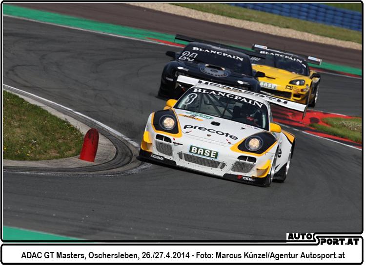 Zwei Topplätze für Norbert Siedler beim Comeback im ADAC GT Masters - Foto: Marcus Künzel/Agentur Autosport.at