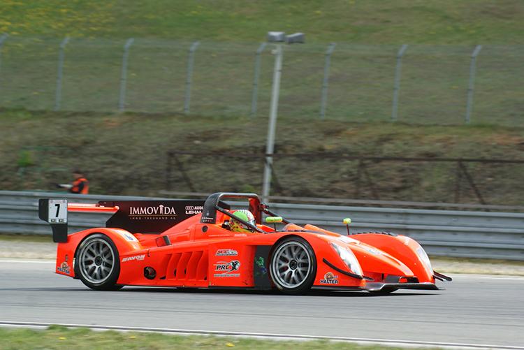 Flavio Mathys (Wolf GB08 Honda) - Foto: Rolf Schindler