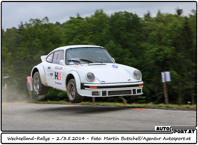 Kris Rodenberger absolut der überlegene Mann bei den Historischen - Foto: Martin Butschell/Agentur Autosport.at