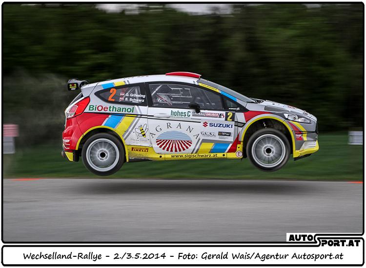Nach technischen Problemen lediglich Platz 5 für Gerwald Grössing im Wechselland - Foto:Gerald Wais/Agentur Autosport.at
