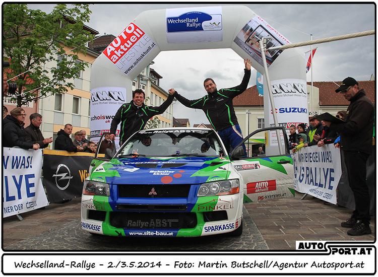 Martin Kalteis/Günter Lang werden für ihre Leistungen in der Vergangenheit mit Platz 6 belohnt - Foto: Martin Butschell/Agentur Autosport.at
