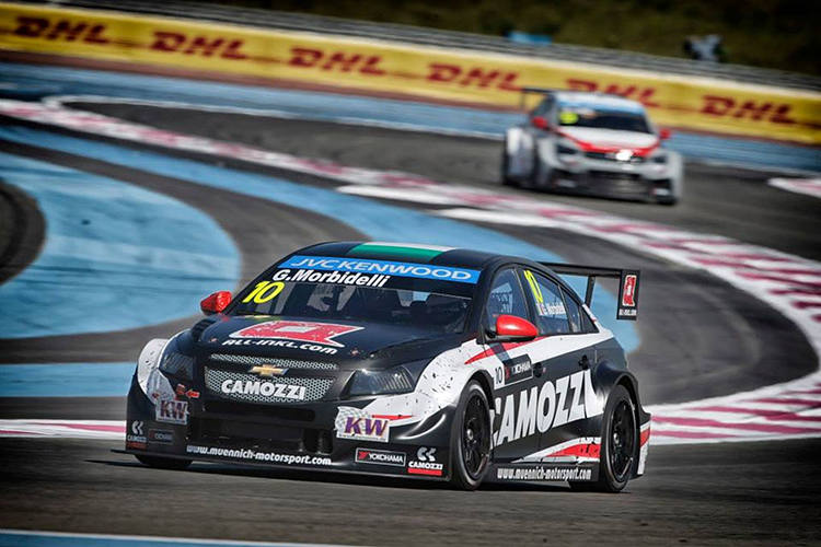 Gianni Morbidelli in Le Castellet: Foto: DPPI/WTCC Media