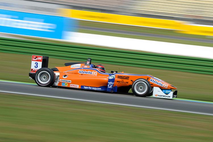 Lucas Auer siegt beim Auftakt der FIA F3-Saison in Hockenheim - Foto: Mario Bartkowiak/Jegasoft Media
