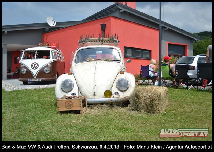 Zum bereits 4. Mal: VW&Audi Treffen in Schwarzau - Foto: Manu Klein/Agentur Autosport.at