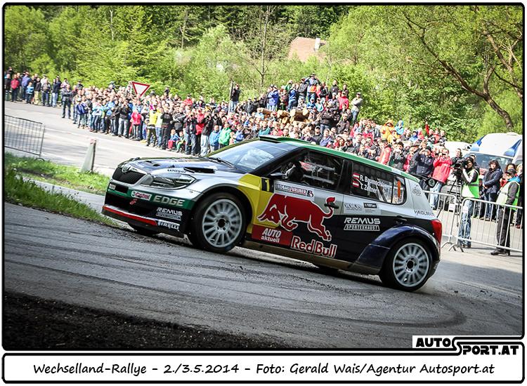 Raimund Baumschlager: Volle attacke oder doch eher Taktik ? - Foto: Gerald Wais/Agentur Autosport.at