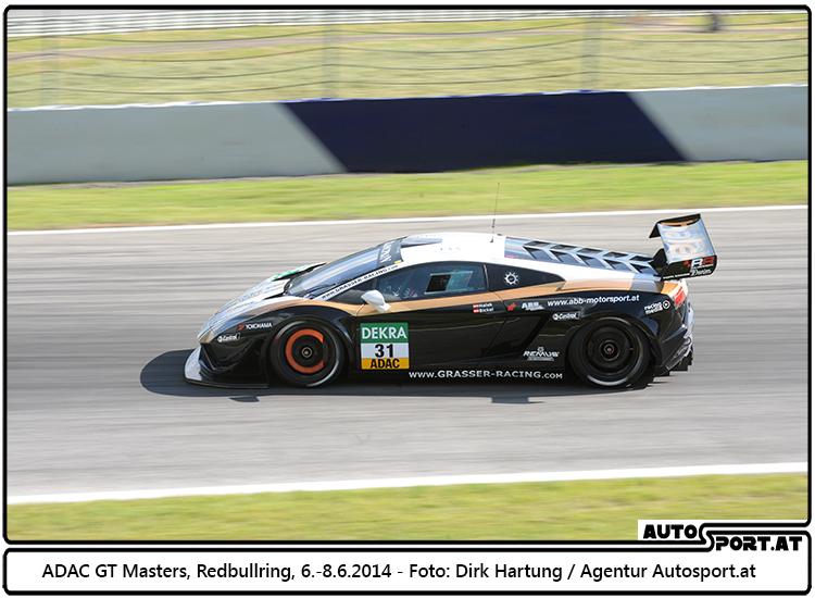 Grasser Racing Team - hier im Rahmen der ADAC GT Masters auf dem Redbullring - Foto: Dirk Hartung/Agentur Autosport.at