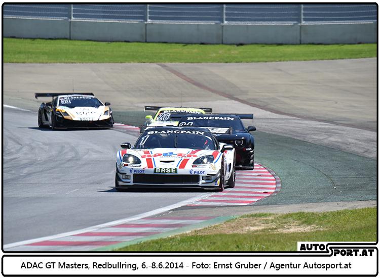 Oliver Gavin/Daniel Keilwitz (Callaway Competition-Corvette Z06.R GT3) dominieren am Redbullring 2014 - Foto: Ernst Gruber/Agentur Autosport.at