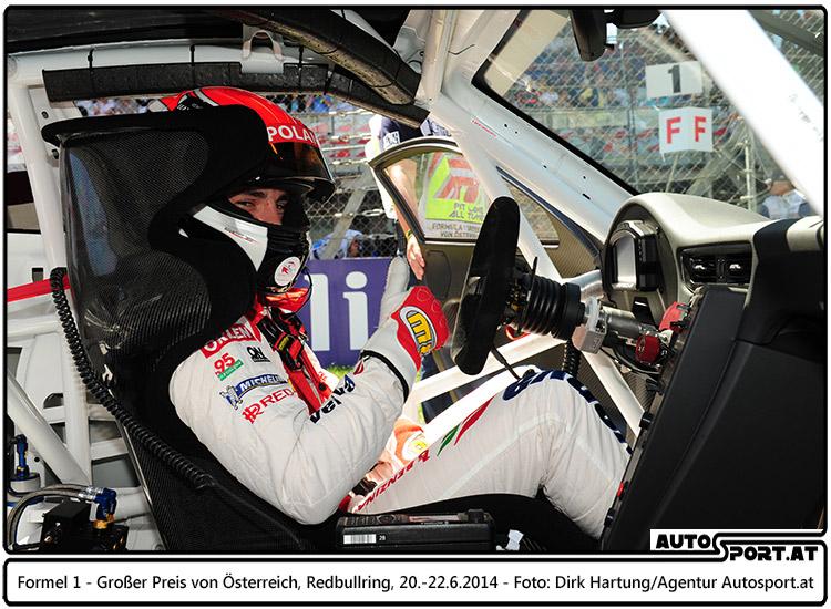 Nach seinem Triumph beim letzten Rennen in Monaco schlägt Kuba Giermaziak auch beim Heimrennen für das VERVA Lechner Racing Team zu - Foto: Dirk Hartung/Agentur Autosport.at