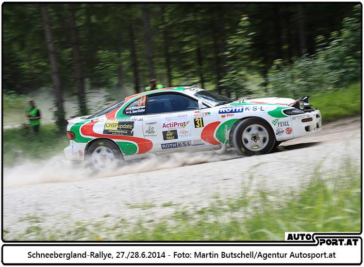Herbert Weingartner/Alexandra Auer-Kaller (Schneebergland-Rallye - Foto: Martin Butschell/Agentur Autosport.at
