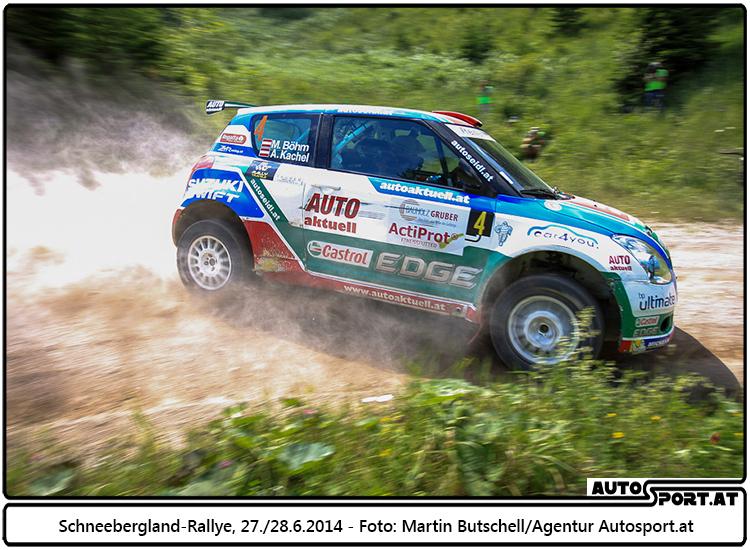 Michi Böhm: Zweiter Platz 2WD reicht für den 3. Gesamtrang - Foto: Martin Butschell/Agentur Autosport.at