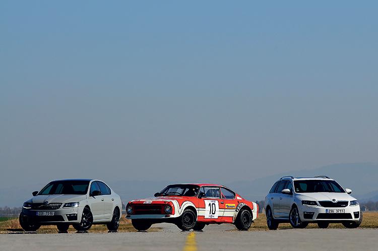 40 Jahre Skoda RS - Foto: Porsche Medienservice