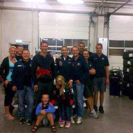 Duller-Crew vor Abreise zum Salzburgring
