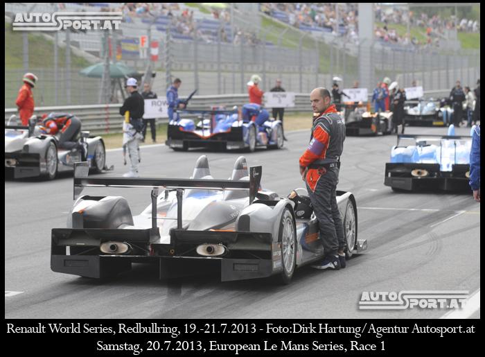 Nach der Premiere 2013 bereits das 2. Mal zu Gast auf dem Redbullring, die ELMS - Foto: Dirk Hartung/Agentur Autosport.at