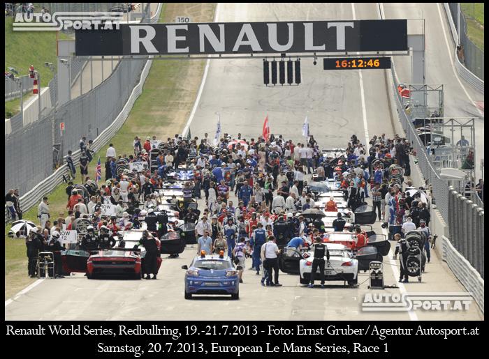 ELMS Redbullring 2014 - 34 Rennwagen in drei Klassen - Foto: Ernst Gruber/Agentur Autosport.at