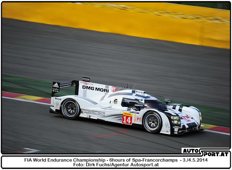 Porsche Alpenpokal zeigt den Le Mans Porsche 919 Hybrid - Foto: Dirk Fuchs/Agentur Autosport.at