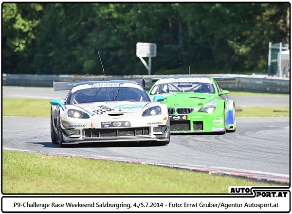 Bender vor d. amtierenden Meister Weege (A) - Foto: Ernst Gruber/Agentur Autosport.at