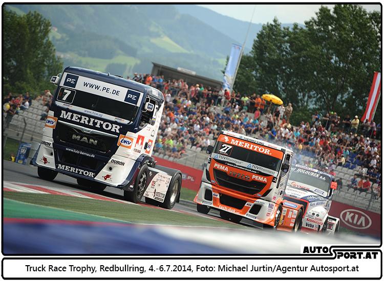 Truckrace Trophy auf dem Redbullring vor 26.000 Zuschauern - Foto: Michael Jurtin/Agentur Autosport.at