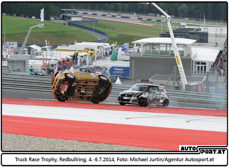 Auch das 2.Rennen des Suzuki Swift Cup Europe in Spielberg war attraktiv und spannend und hat die Zuschauer begeistert - Foto: Michael Jurtin/Agentur Autosport.at