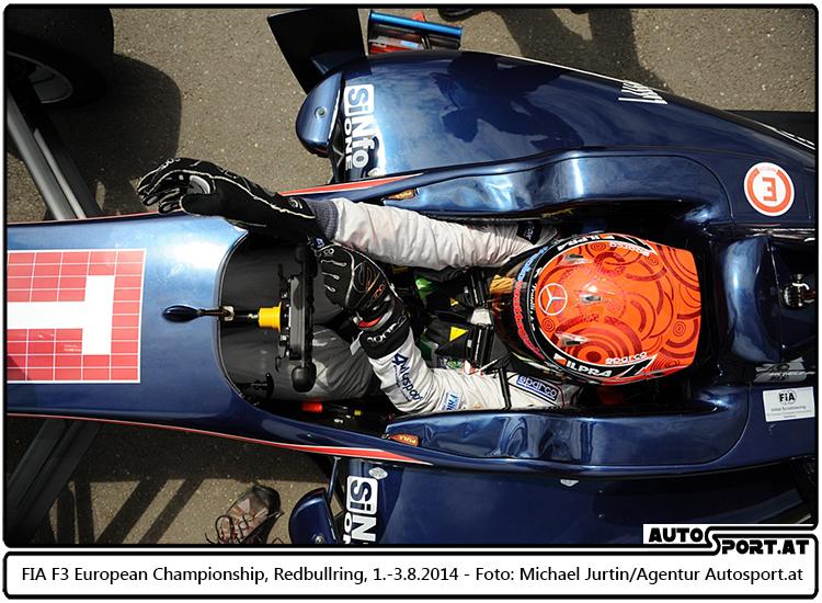 Esteban Ocon sichert sich ersten Startplatz in der Steiermark - Michael Jurtin / Agentur Autosport.at
