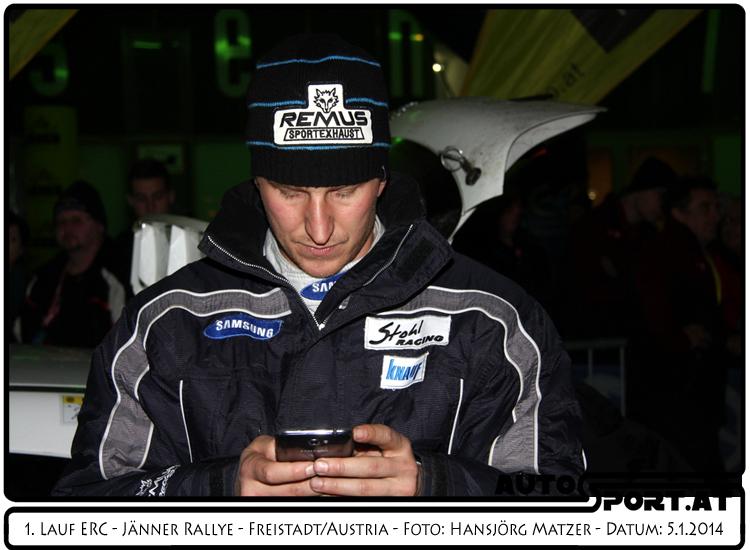 Andreas Aigner Organisator der ersten Liezen-Rallye - Foto: Hansjörg Matzer/Agentur Autosport.at