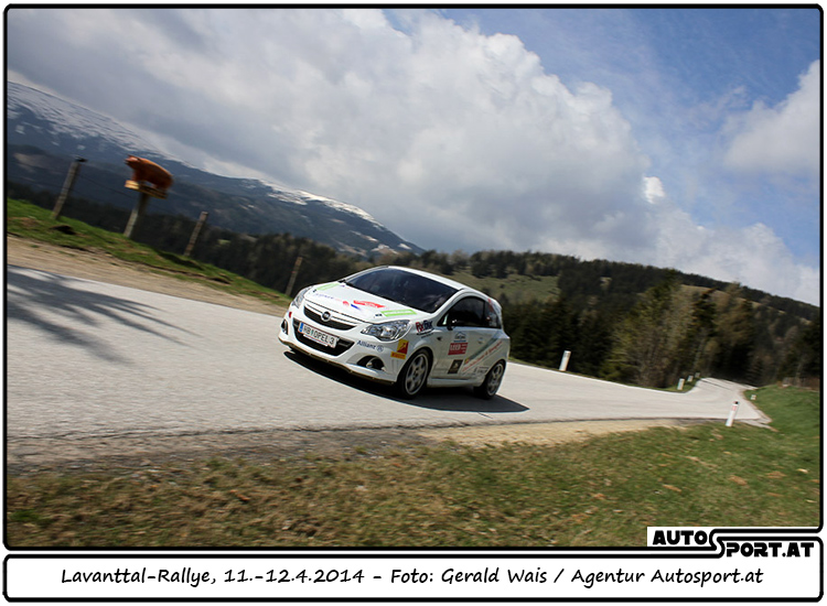 Gerhard   Aigner führt im Opel Corsa OPC Rallye Cup - Foto: Gerald Wais/Agentur Autosport.at