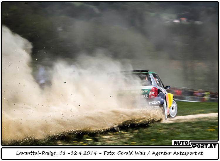 Raimund Baumschlager: Favorit in Führung - Foto: Gerald Wais / Agentur Autosport.at