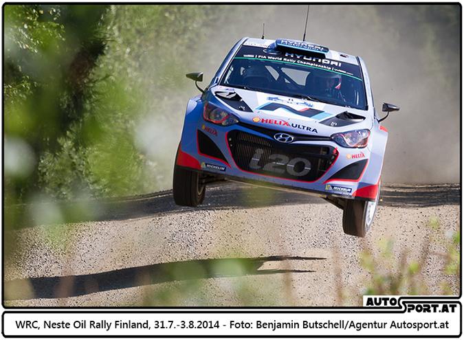 Hyundai mit guter Performance bei Rallye Finnland - Foto: Benjamin Butschell / Agentur Autosport.at