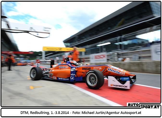 Lucas Auer (hier auf dem Redbullring) siegt in der Eifel - Foto: Michael Jurtin / Agentur Autosport.at