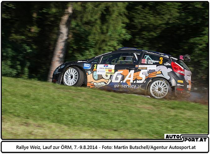 Hermann Neubauer muß weiter auf den ersten Sieg warten - Foto: Martin Butschell / Agentur Autosport.at