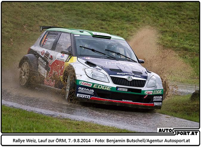 Raimund Baumschlager auch bei der Rallye Liezen erfolgreich ? - Foto: Benjamin Butschell  / Agentur Autosport.at
