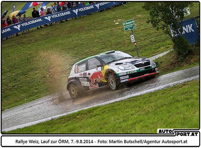 Raimund Baumschlager fährt den 12. Staatsmeistertitel in Weiz ein - Foto: Martin Butschell/Agentur Autosport.at