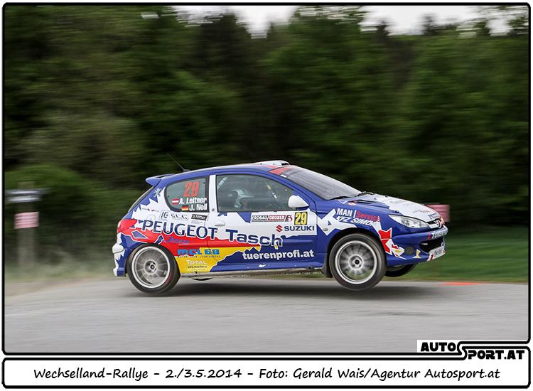 Rallye Liezen: Zweiter Matchball für Alfred Leitner - Foto: Gerald Wais/Agentur Autosport.at