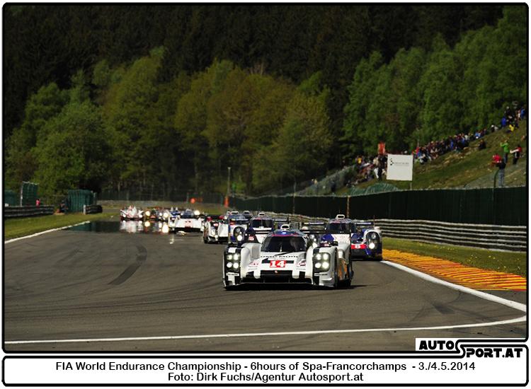 Porsche 919 Hybrid, Porsche Team: Timo Bernhard, Brendon Hartley, Mark Webber  - Foto: Dirk Fuchs/Agentur Autosport.at