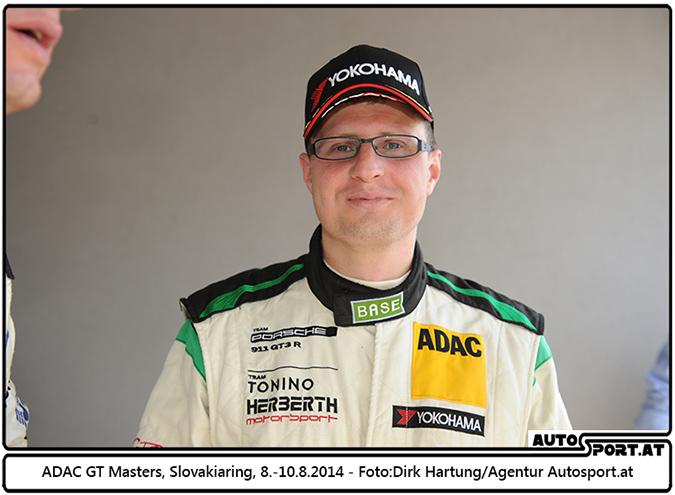 Der Gentlemen-Champion des ADAC GT Masters: Herbert Handlos - Foto: Dirk Hartung/Agentur Autosport.at