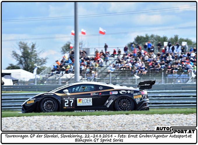 Grasser Racing in der Slowakei: Wenig Erfolg vor vielen Zuschauern  - Foto: Ernst Gruber / Agentur Autosport.at
