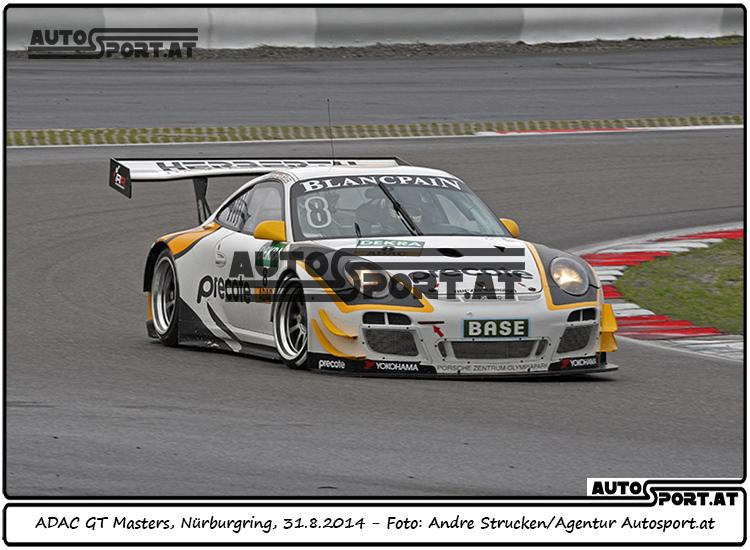 Norbert Siedler erreicht im Samstags-Rennen der GT-Masters auf dem Nürburgring das Podium - Foto: Andre Strucken / Agentur Autosport.at