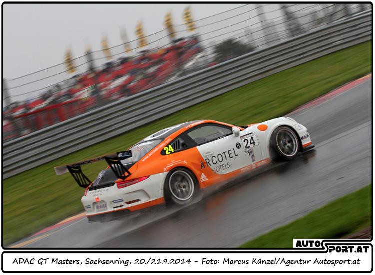 Schwierige Bedingungen für Felix Wimmer auf dem Sachsenring - Foto: Marcus Künzel/ Agentur Autosport.at