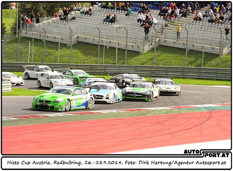Duller-BMW führt das Feld auf dem Redbullring an - Foto: Dirk Hartung/ Agentur Autosport.at