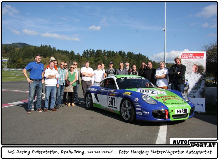 WS Racing präsentiert seinen neuen Wagen am Red Bull Ring in der Steiermark - Foto: Hansjörg Matzer/Agentur Autosport.at