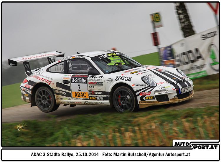 Ruben Zeltner holt den Titel im ADAC Rallye Masters - Foto: Martin Butschell/Agentur Autosport.at